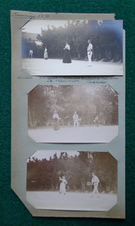 Grand Duchess Anastasia Mecklenburg-Schwerin Romanov Playing Tennis Villa Wenden